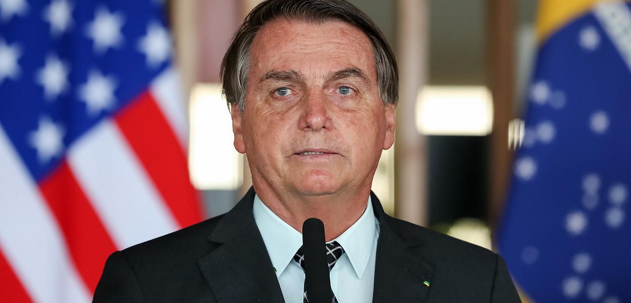 Palavras do Presidente da República, Jair Bolsonaro. 20/10/2020