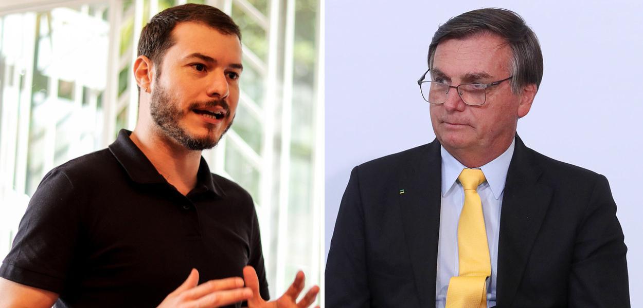 Juliano Medeiros e Jair Bolsonaro