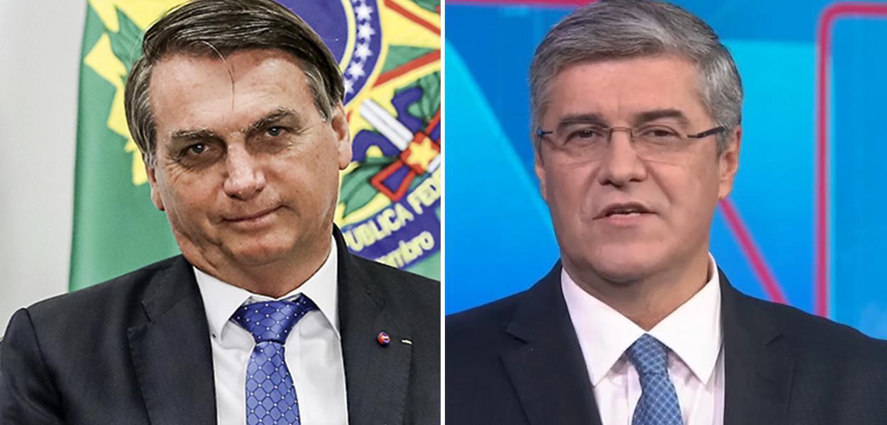 Jair Bolsonaro e Flávio Fachel