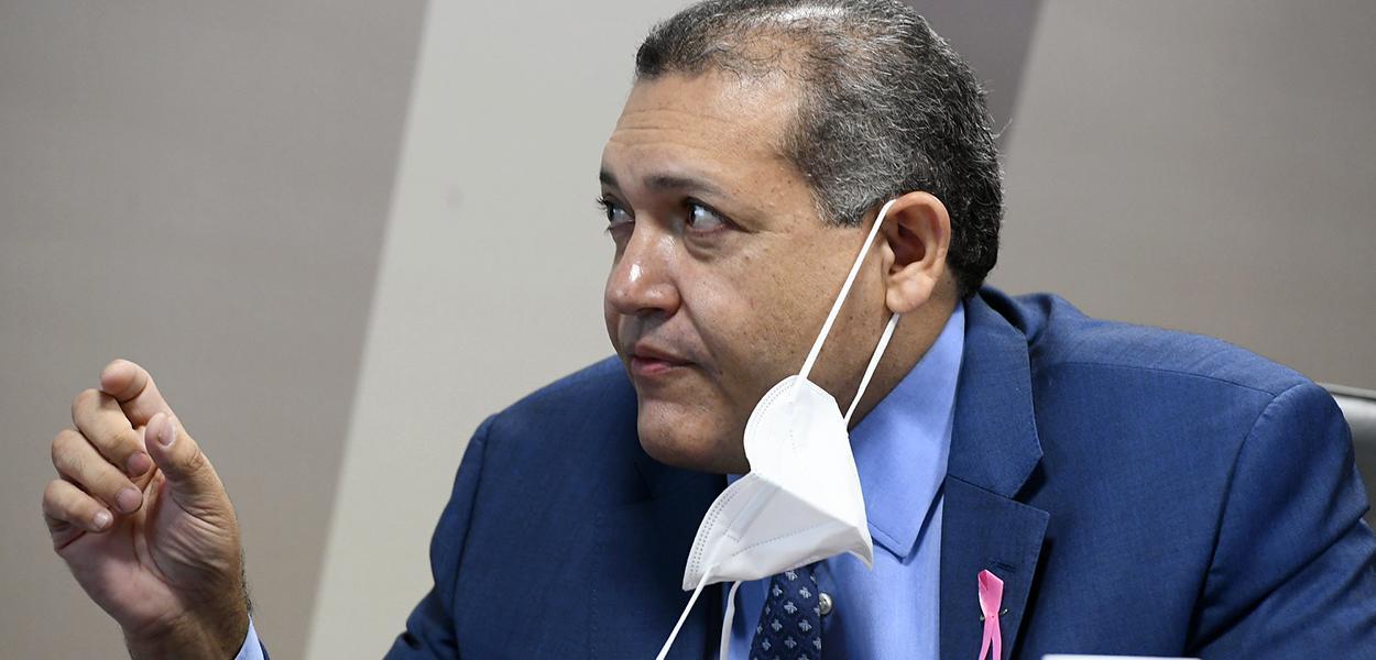 Sabatina de indicado para exercer o cargo de ministro do Supremo Tribunal Federal (STF). 21 de outubro de 2020