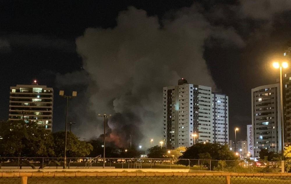 Incêndio em Shopping de Aracaju