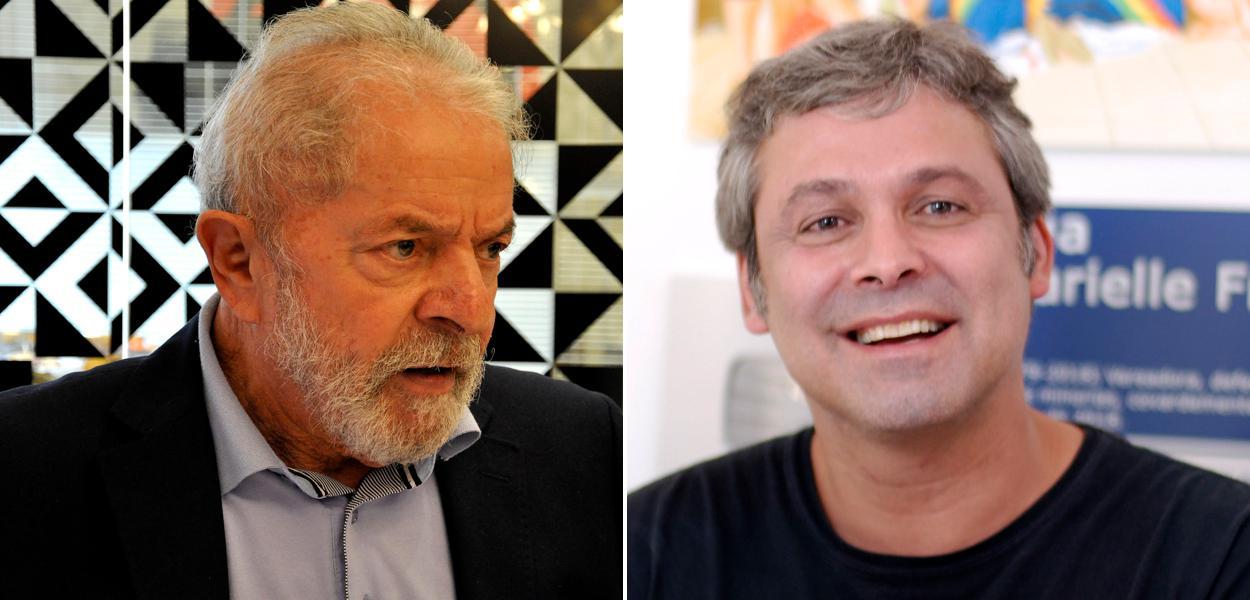 Lula e Lindbergh Farias