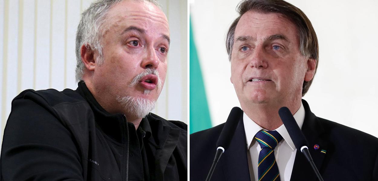 Carlos Fernando dos Santos Lima e Jair Bolsonaro