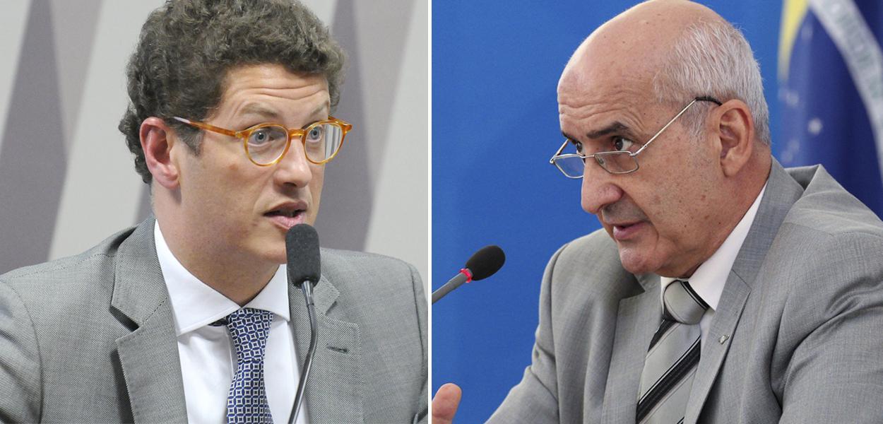 Ricardo Salles e Luiz Eduardo Ramos