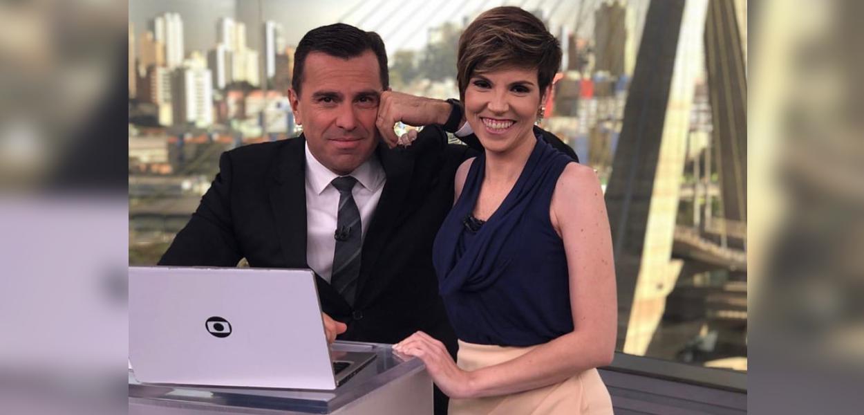 Rodrigo Bocardi e Gloria Vanique