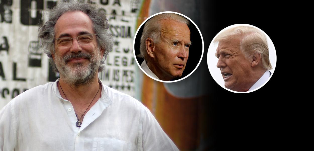Pepe Escpbar, Joe Biden e Donald Trump