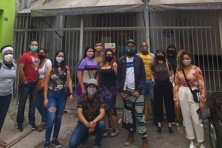 Caminhada conta história de São Paulo do ponto de vista dos negros