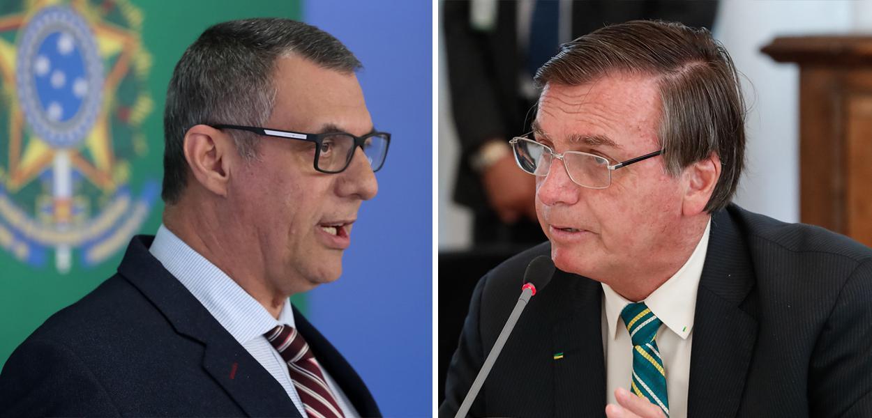 Otávio Rêgo Barros e Jair Bolsonaro