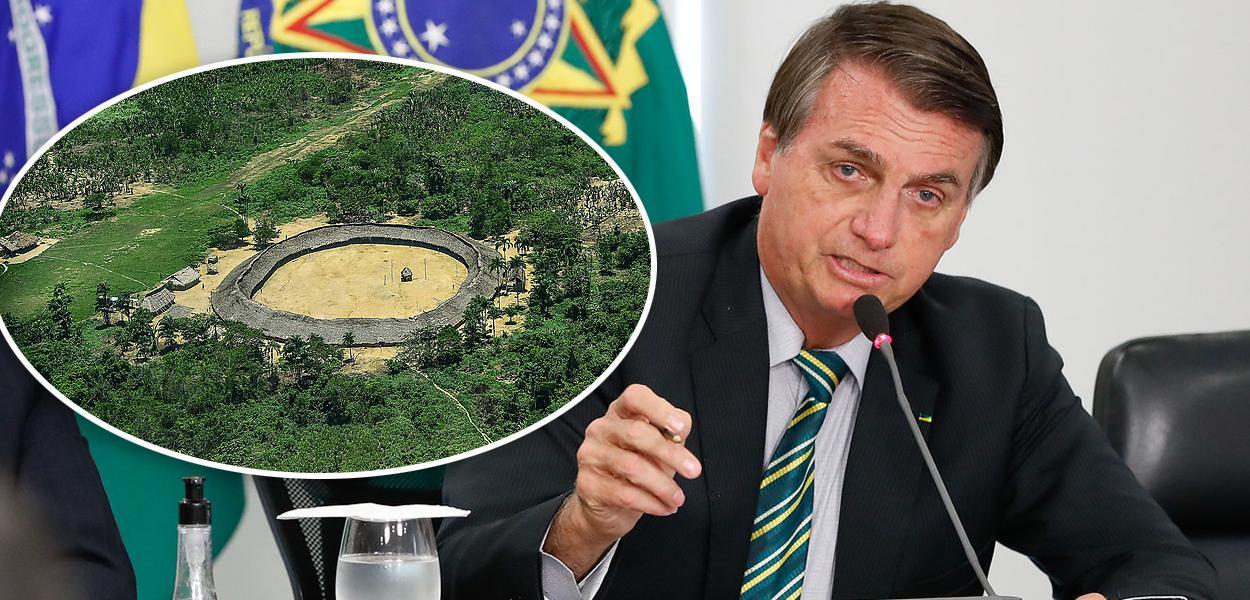 Terra indígena e Jair Bolsonaro