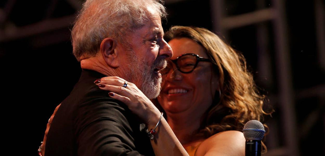 Lula e Rosangela Silva
