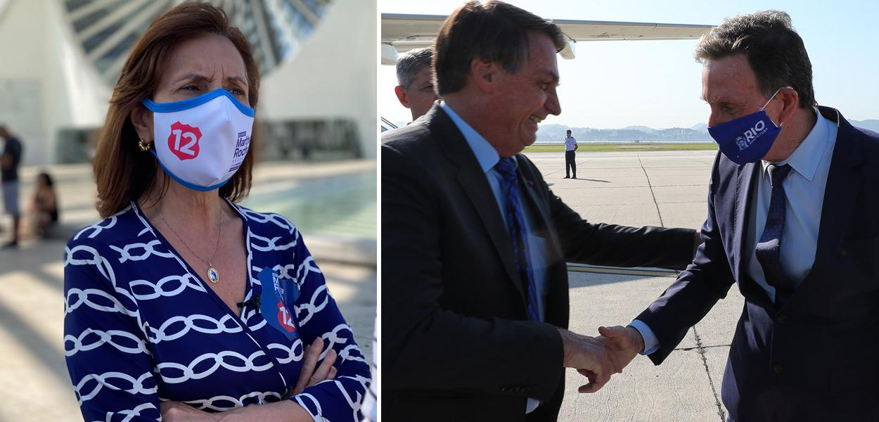 Martha Rocha, Bolsonaro com Crivella
