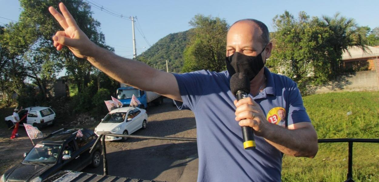 Luciano Guerra- candidato-PT Santa Maria-RS