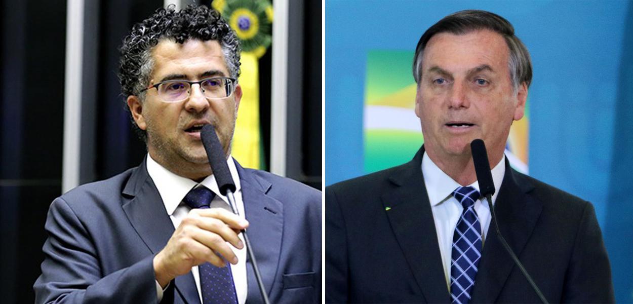 Alencar Santana Braga e Jair Bolsonaro