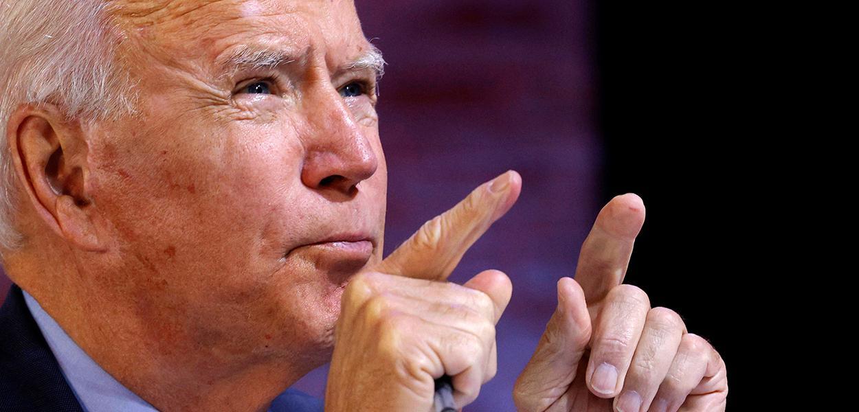 Candidato presidencial democrata, Joe Biden. 28/10/2020