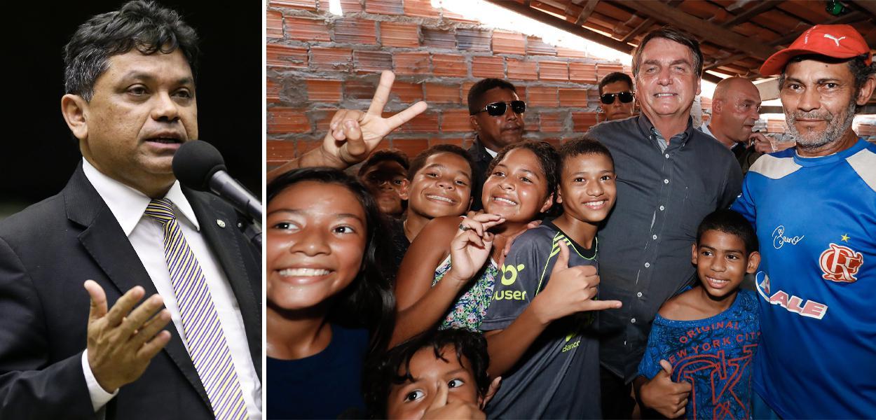 Marcio Jerry e Bolsonaro no Maranhão