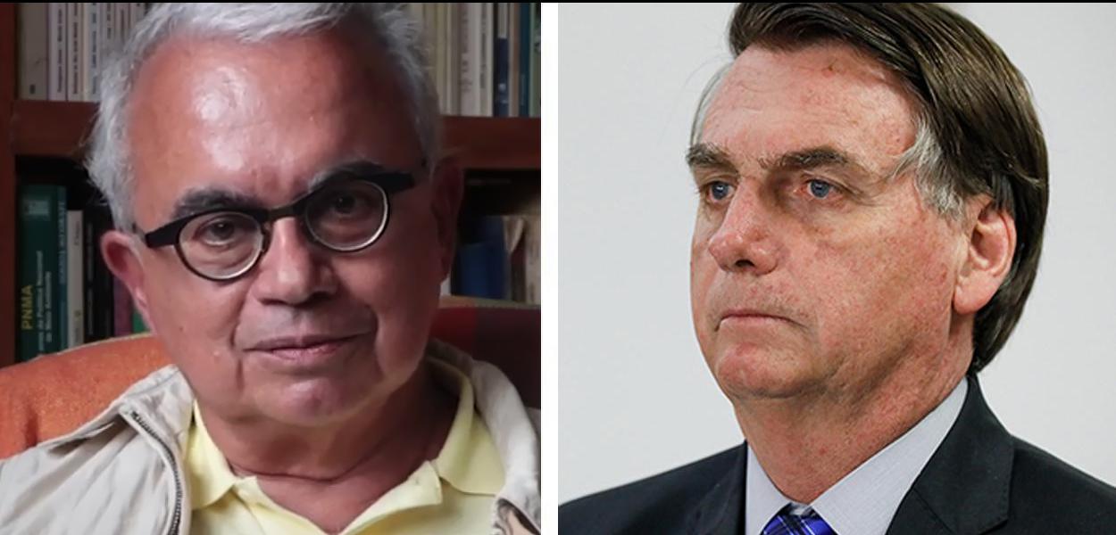 Marcos Coimbra e Jair Bolsonaro