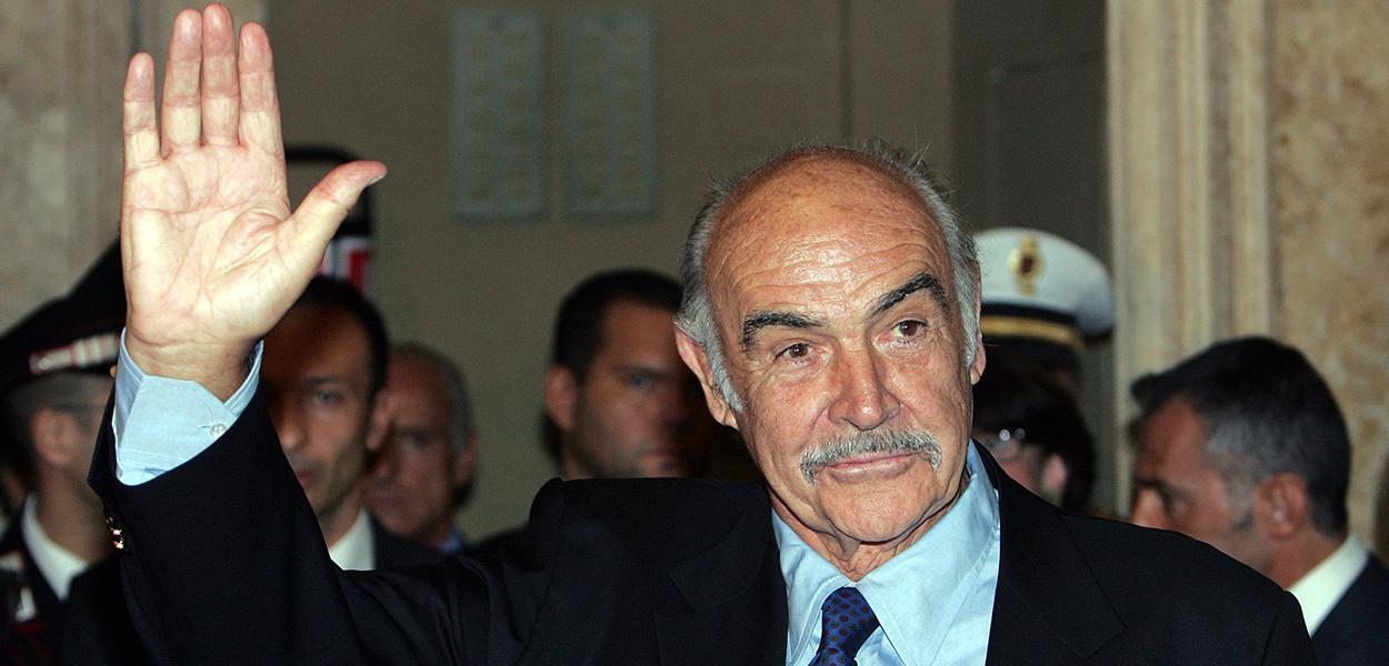 Ator Sean Connery morre aos 90 anos