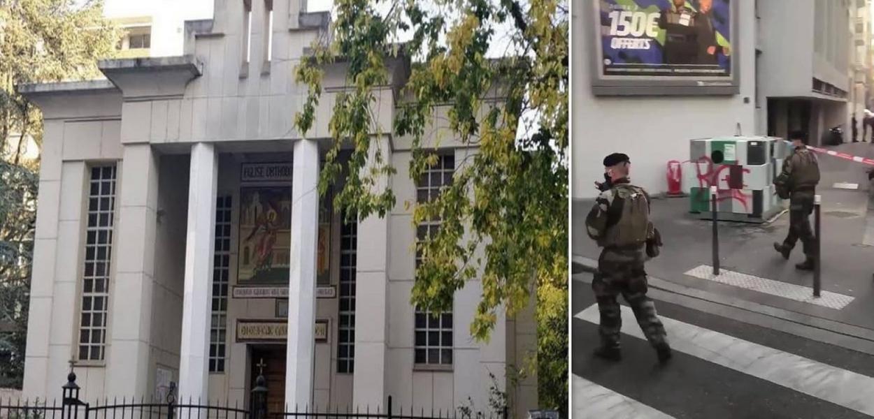 Padre hortodoxo é baleado em Lyon, na França