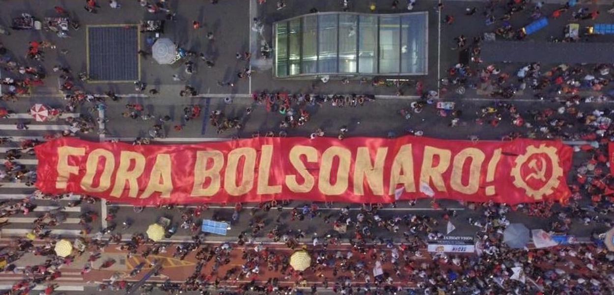 Fora Bolsonaro na Av. Paulista