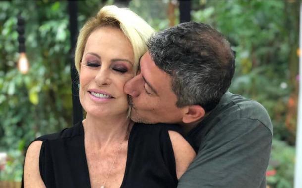 Ana Maria Braga e Tom Veiga, que faz o Louro José