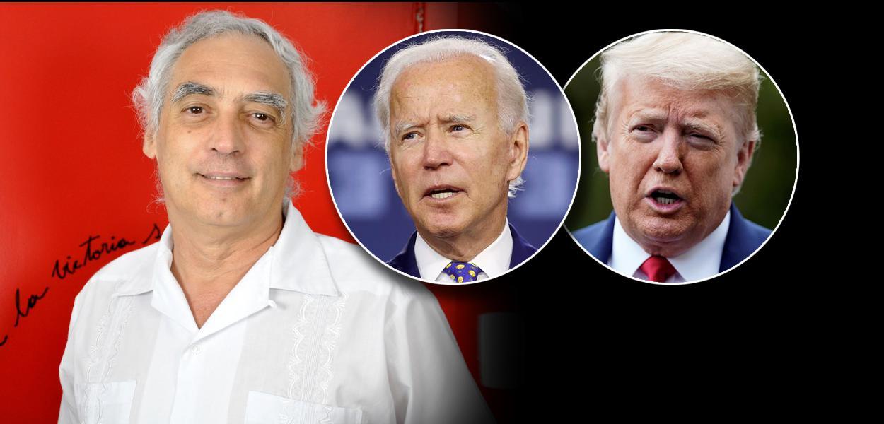 José Reinaldo Carvalho, Joe Biden e Donald Trump