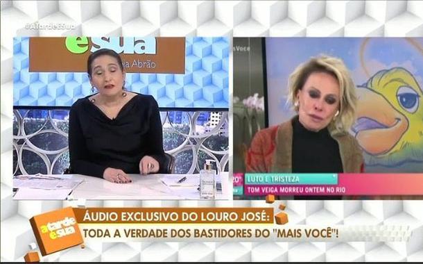 Sônia Abrão e Ana Maria Braga