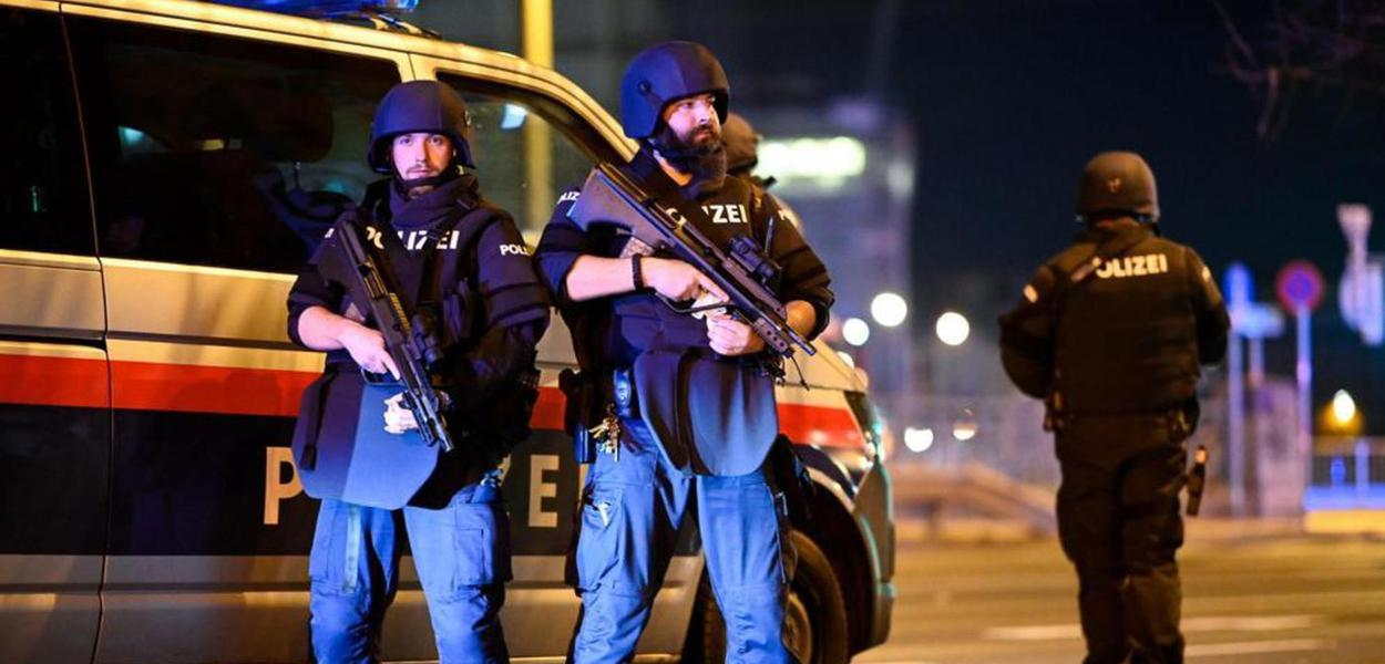 Ataque a tiros em Viena deixa mortos e feridos