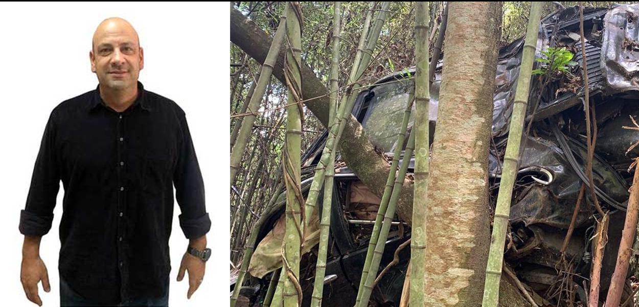 Carro do irmão do ator Marco Ricca é encontrado em Santa Isabel após seis anos