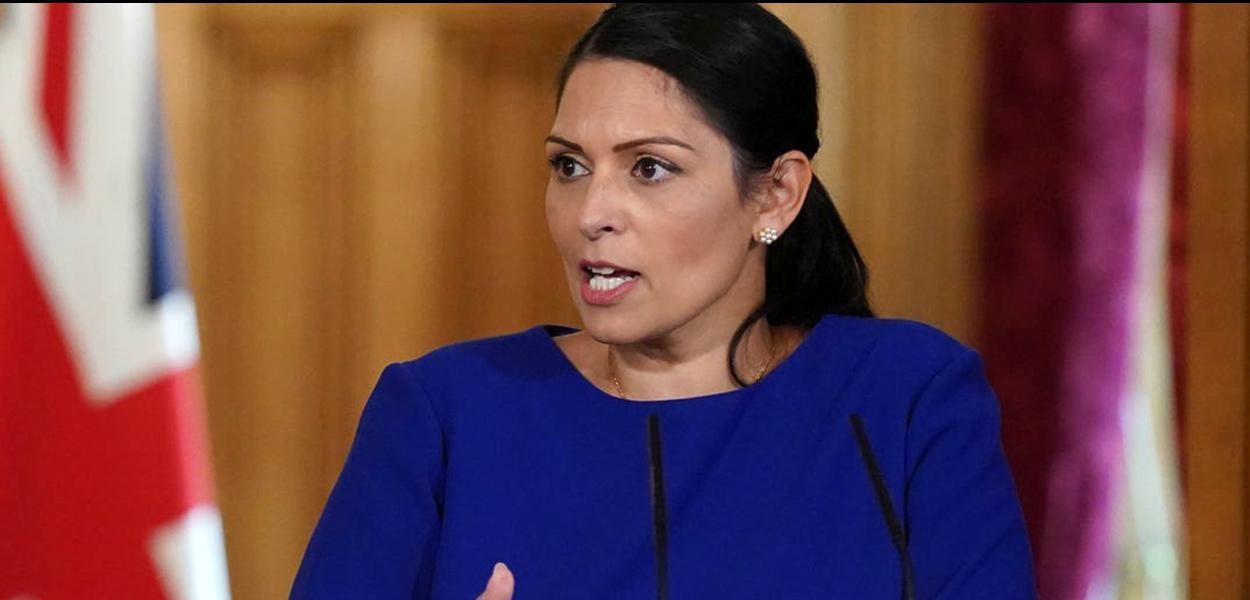 Priti Patel, ministra britânica do Interior.