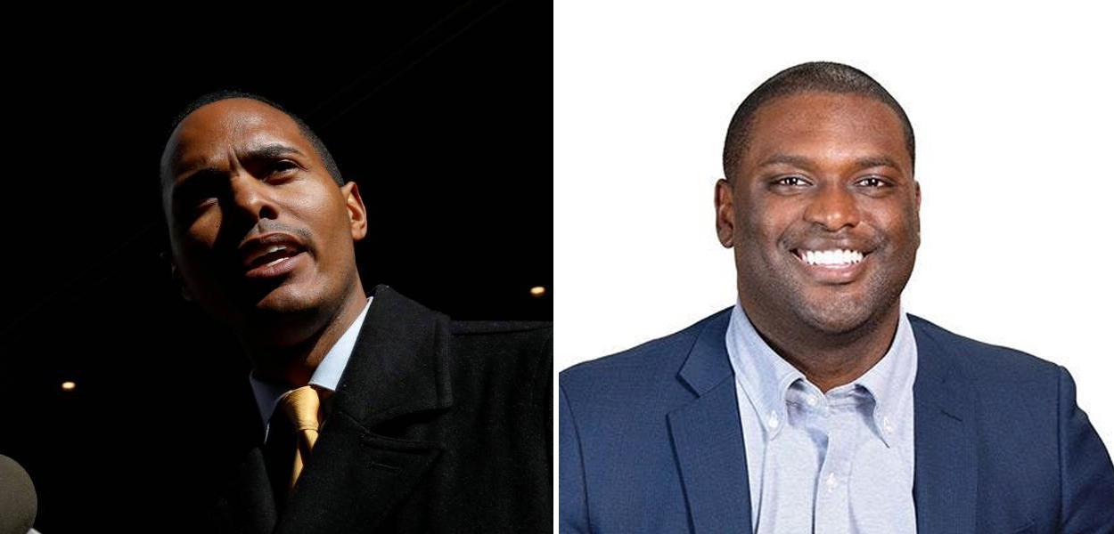Ritchie Torres e Mondaire Jones, filiados ao Partido Democrata