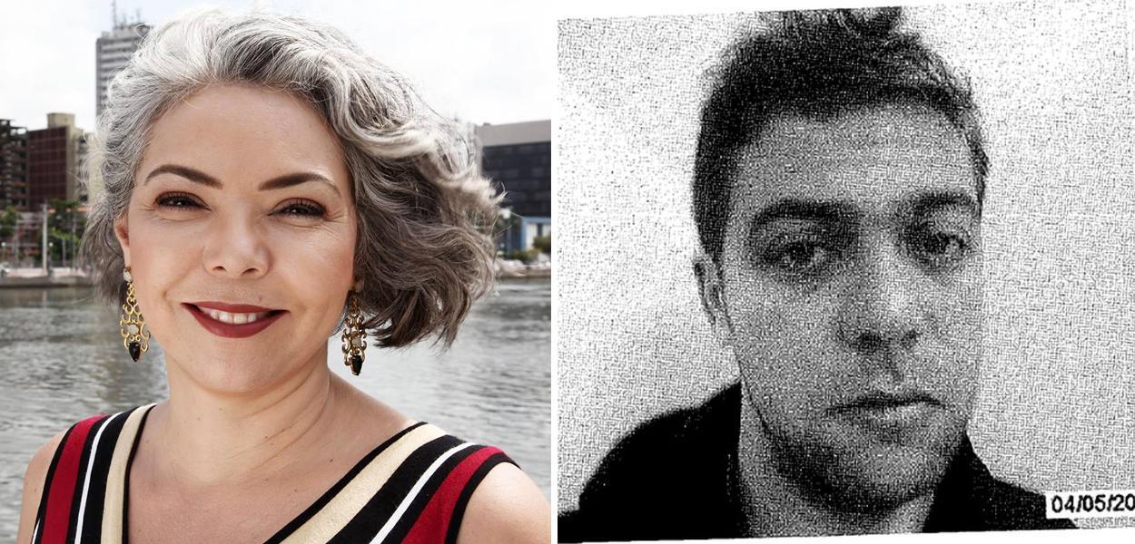 Liana Cirne Lins e André de Camargo Aranha, acusado de estuprar Mariana Ferrer