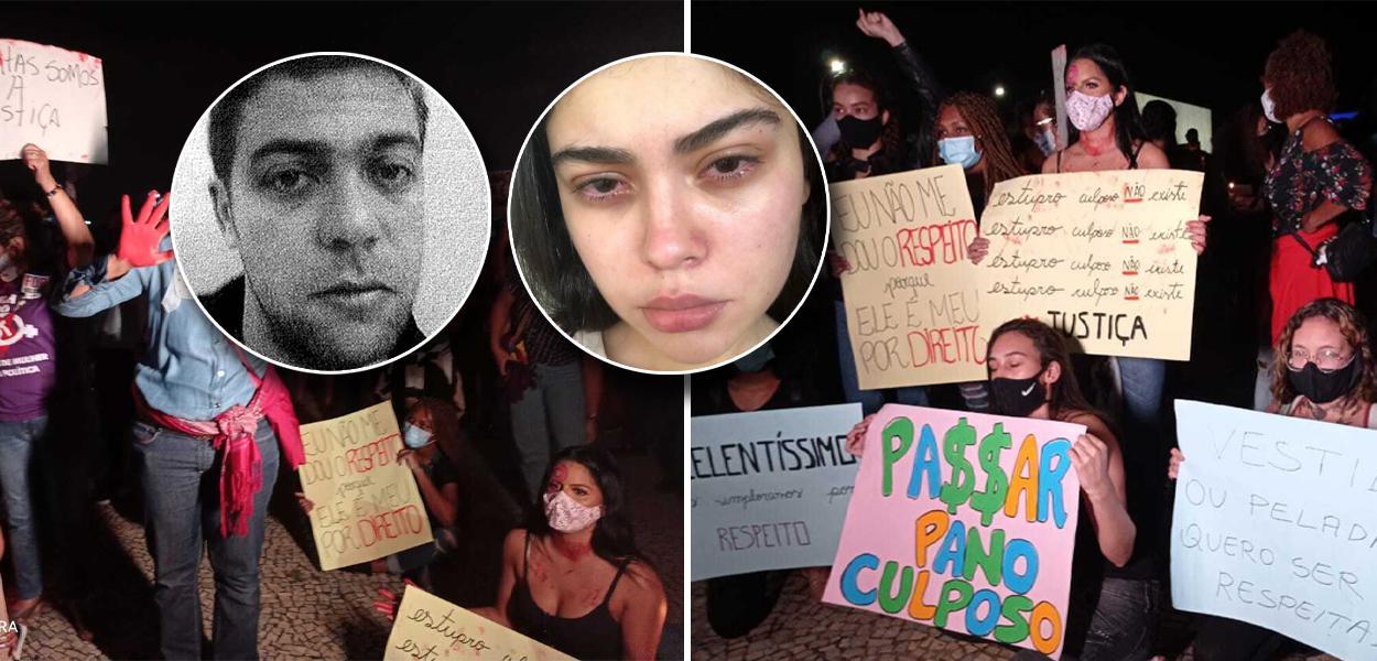 Vários atos estão marcados em protesto contra o desfecho do caso Mariana Ferrer
