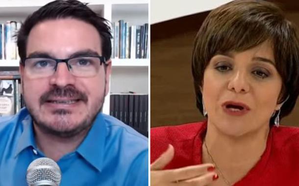 Rodrigo Constantino e Vera Magalhães