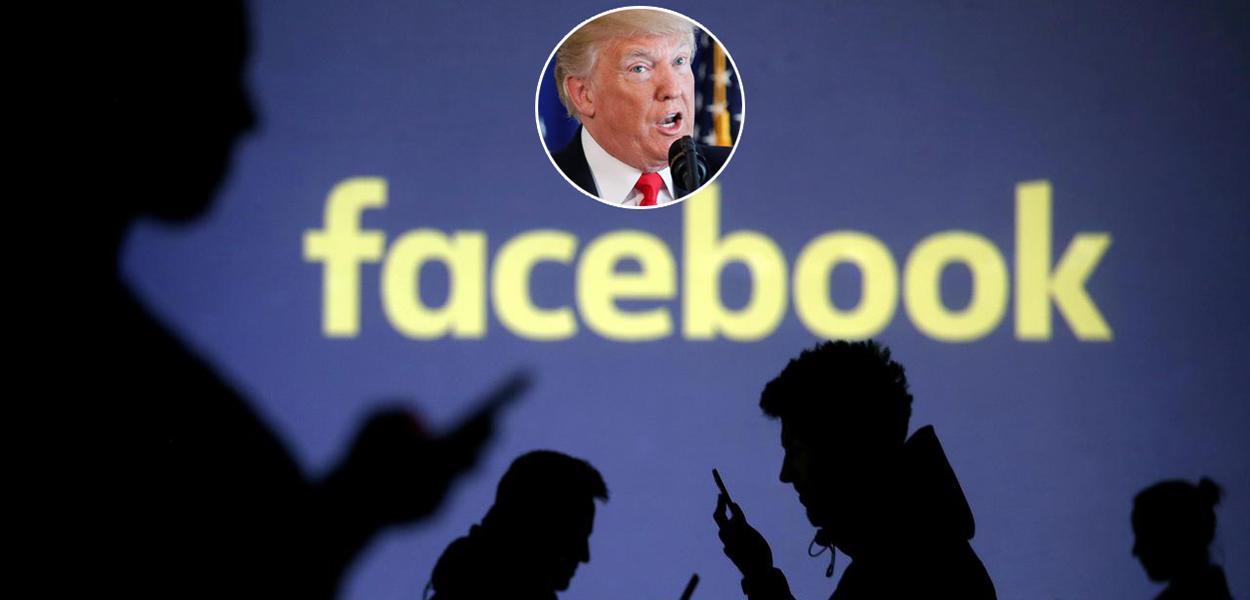 Grupo favorável a Donald Trump na rede social apontava, sem provas, fraudes no processo eleitoral