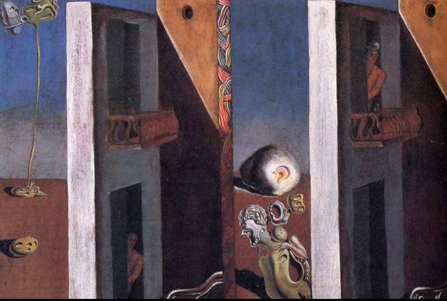 Os d0ois balcões, quadro roubado de Salvador Dali