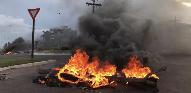 Protestos de moradores no Amapá, que vive apagão