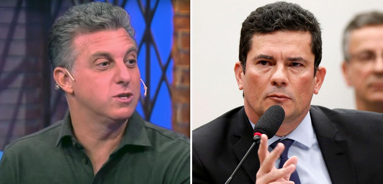 Luciano Huck e Sérgio Moro