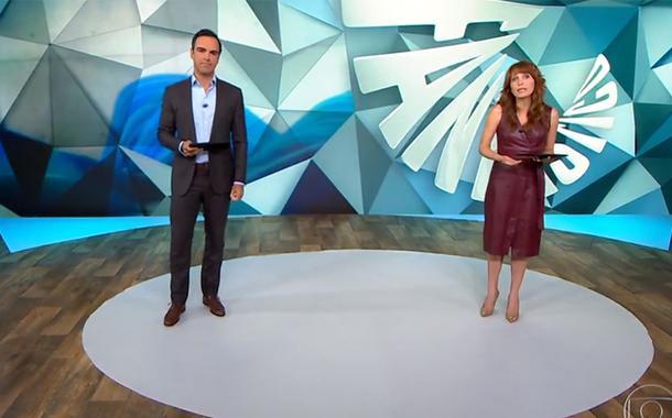 Tadeu Schmidt e Poliana Abritta