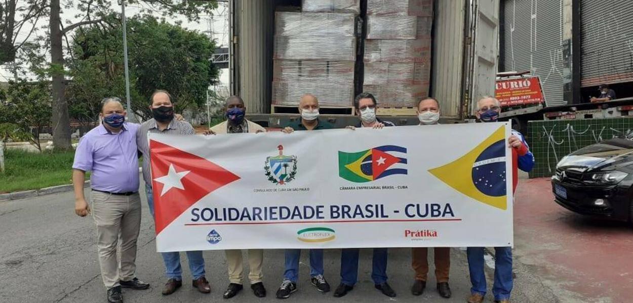Câmara Empresarial Brasil-Cuba envia à ilha materiais para ajudar no combate à Covid-19