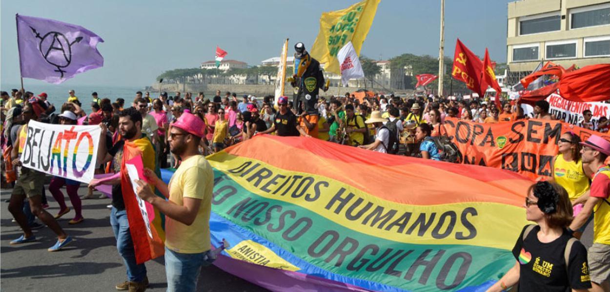 Dossiê alerta para a violência contra a comunidade LGBT no Brasil