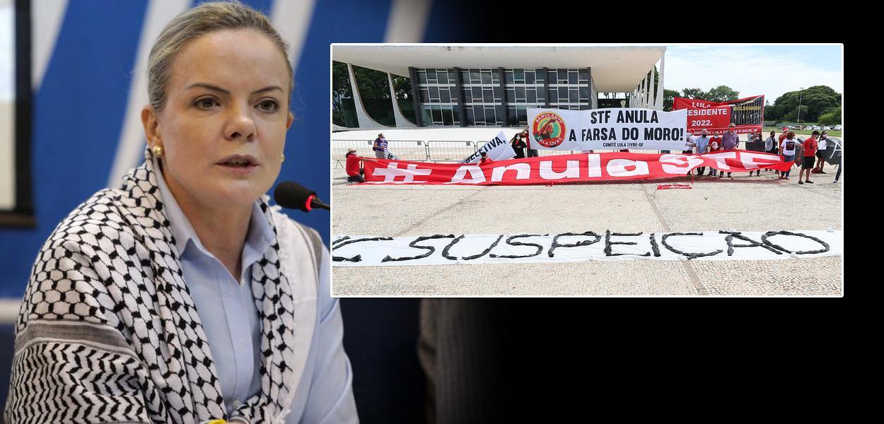 Manifesto de lideranças mundiais pedindo justiça para Lula é protocolado no STF