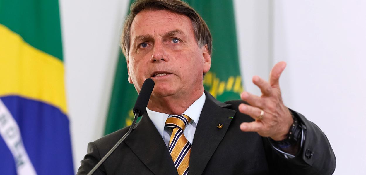 Palavras do Presidente da República, Jair Bolsonaro.  10/11/2020