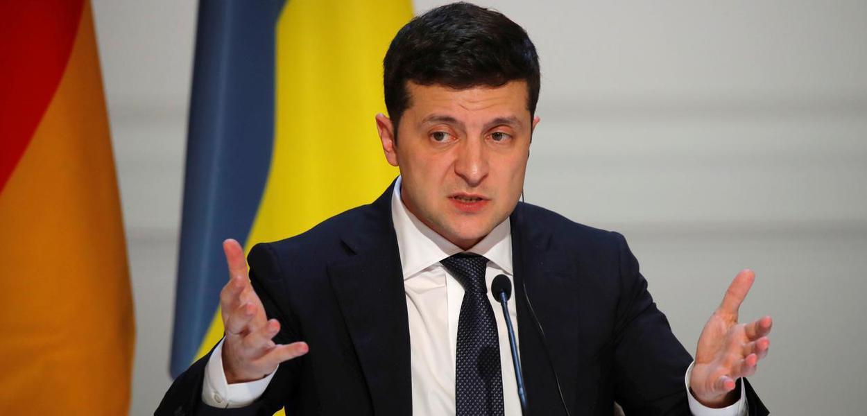 Volodymyr Zelenskiy, presidente da Ucrânia