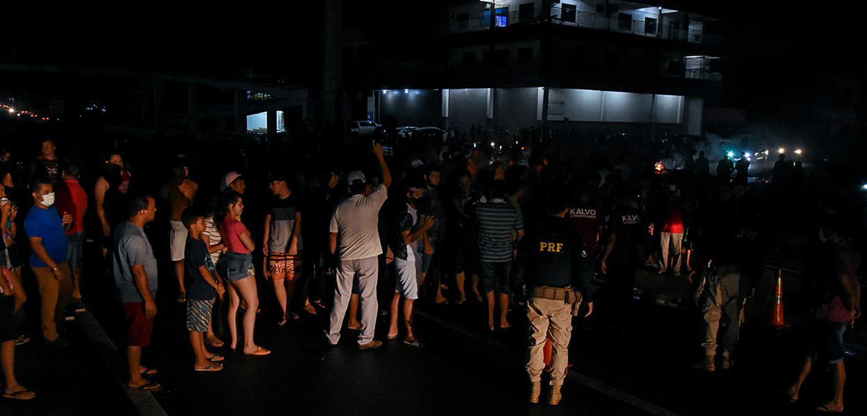 Crise de energia no Amapá, apagão em Macapá