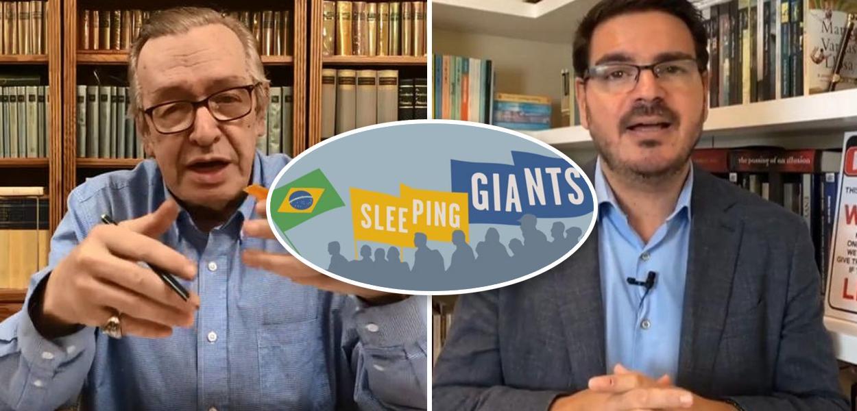 Olavo de Carvalho e Rodrigo Constantino