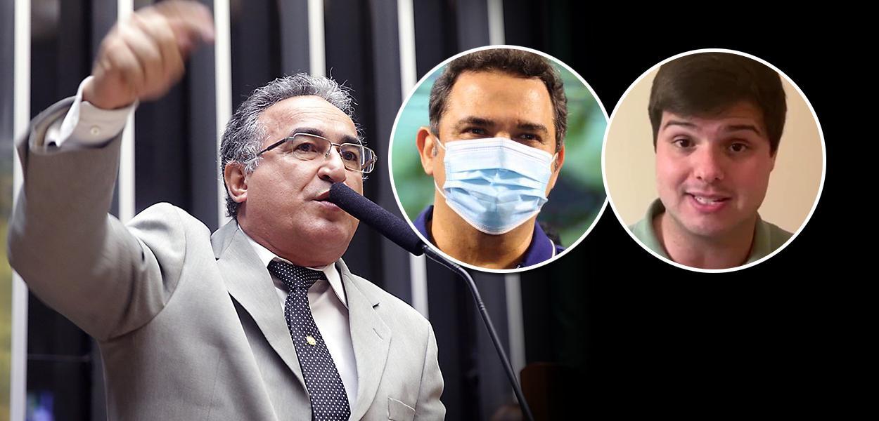 Edmilson Rodrigues, Priante e Thiago Araujo