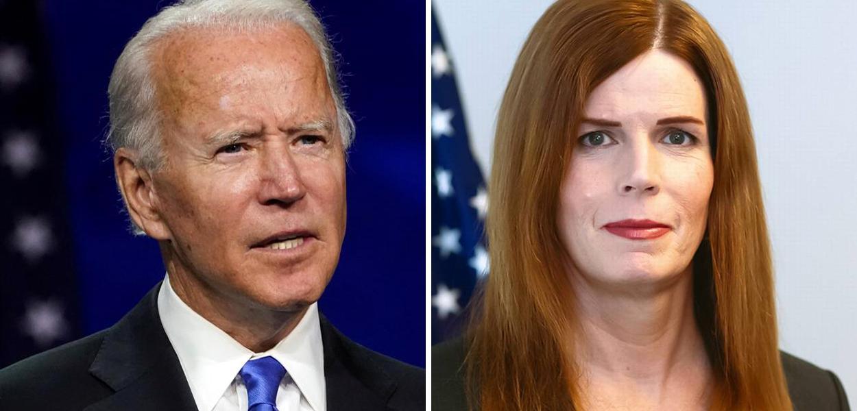 Joe Biden e Shawn Skelly