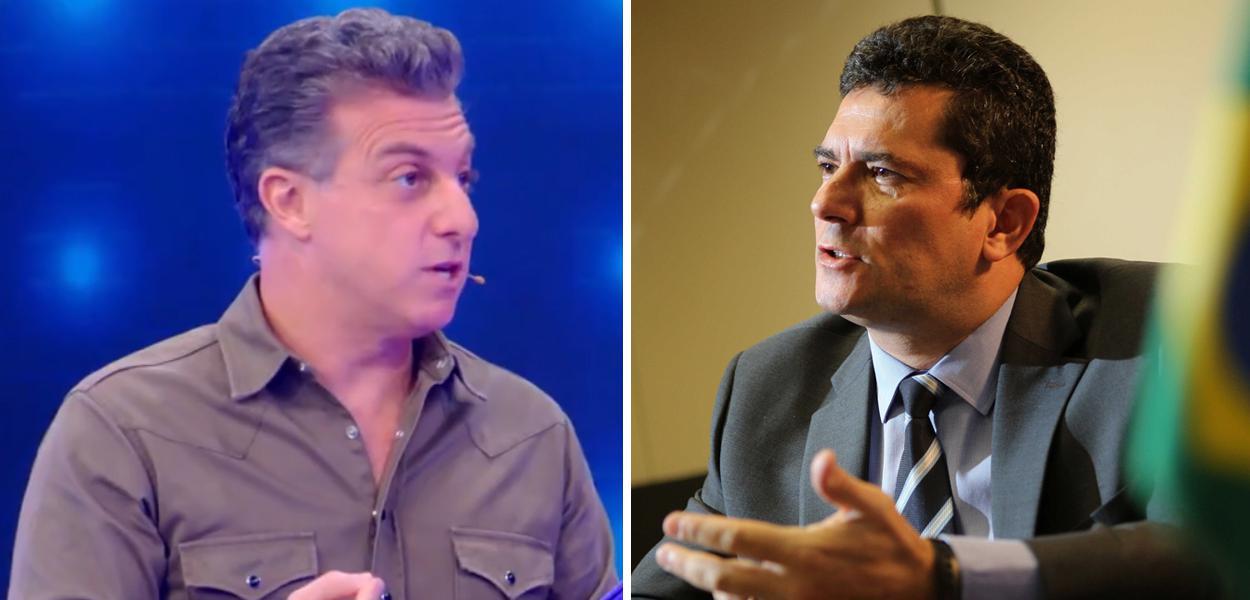Luciano Huck e Sergio Moro