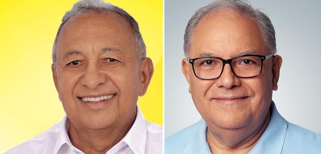 Dr Pessoa (MDB) e Kleber Montezuma (PSDB)