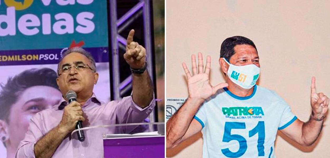 Edmilson Rodrigues e Delegado Federal Eguchi